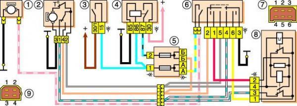Схема электрооборудования (без
